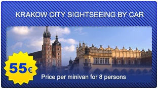 KRAKOW CITY SIGHTSEEING by car