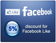 Discount for Facebook Like